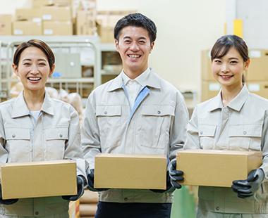 清潔な作業場で快適に仕事ができる!