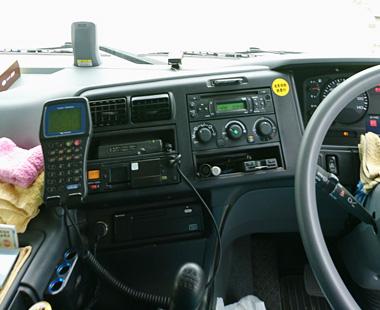 最新の安全設備機器を車両に搭載!