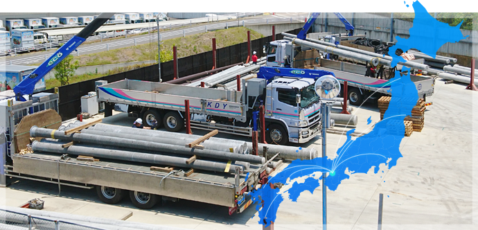 精密機器・重量物の輸送及び保管